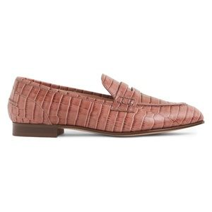 NEW J. Crew Academy Loafers Snake Print 7.5